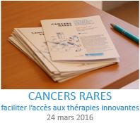 Séminaire cancers rares