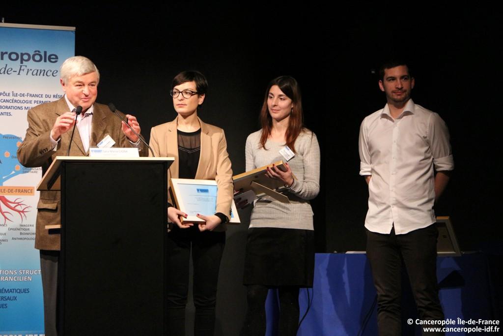 Prix 2015 du Cancéropôle Île-de-France