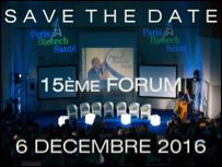 Forum Paris Biotech Santé