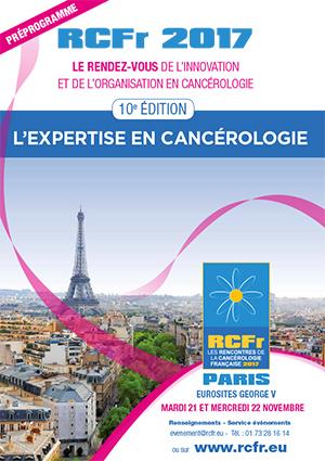 Rencontre de cancerologie francaise 2018