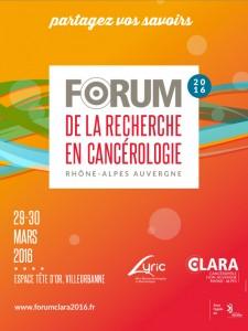 Affiche du forum 2016 CLARA LYric