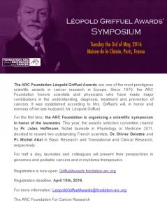 Symposium Leopold Griffuel
